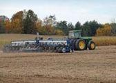 wheat farming plowing