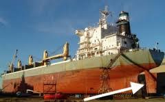 Ships rudder